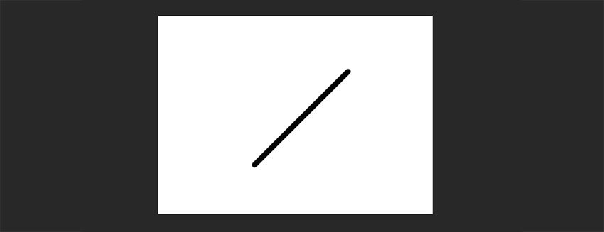angled line in photoshop