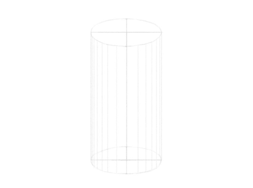 how to draw log in 3d
