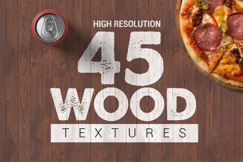 45 Wood Textures