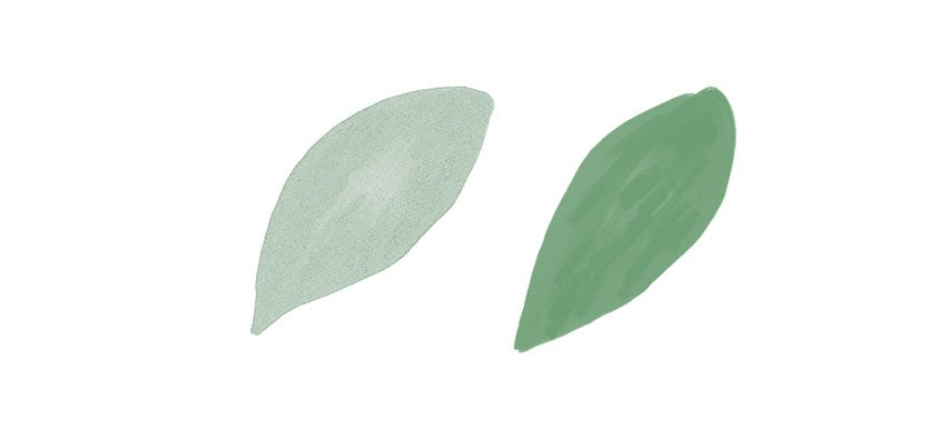 painting method difference