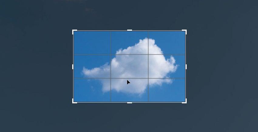 crop the cloud