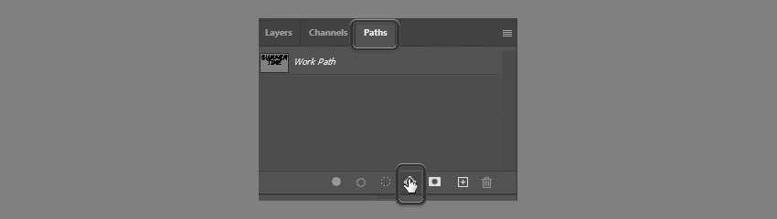 create work path from image