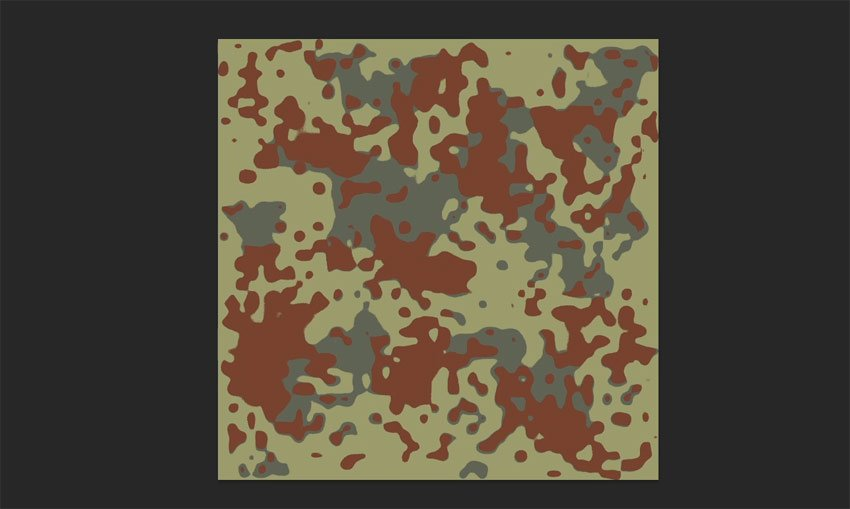 fill splotches with red