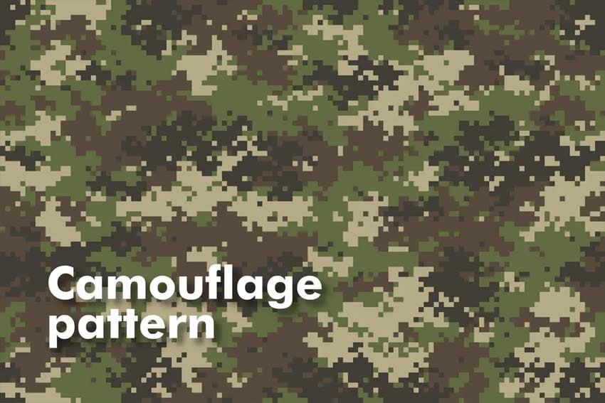 seamless camo pattern
