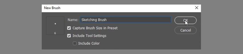 save new brush