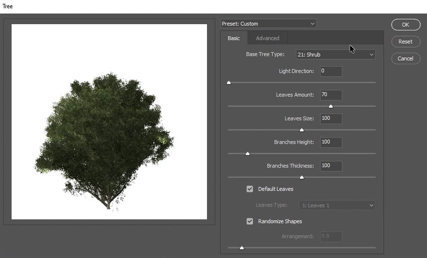 generate trees