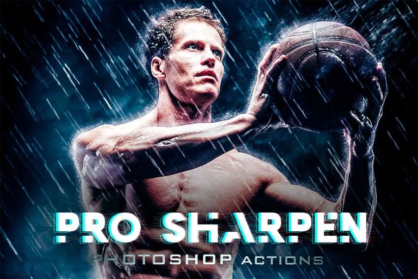 Sharpen Premium HDR Photoshop Actions