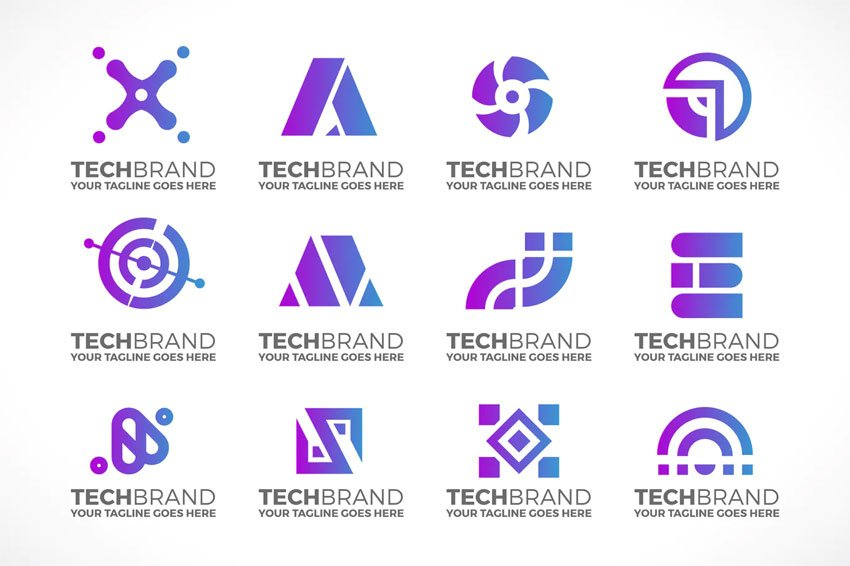 Technology Logo Collection