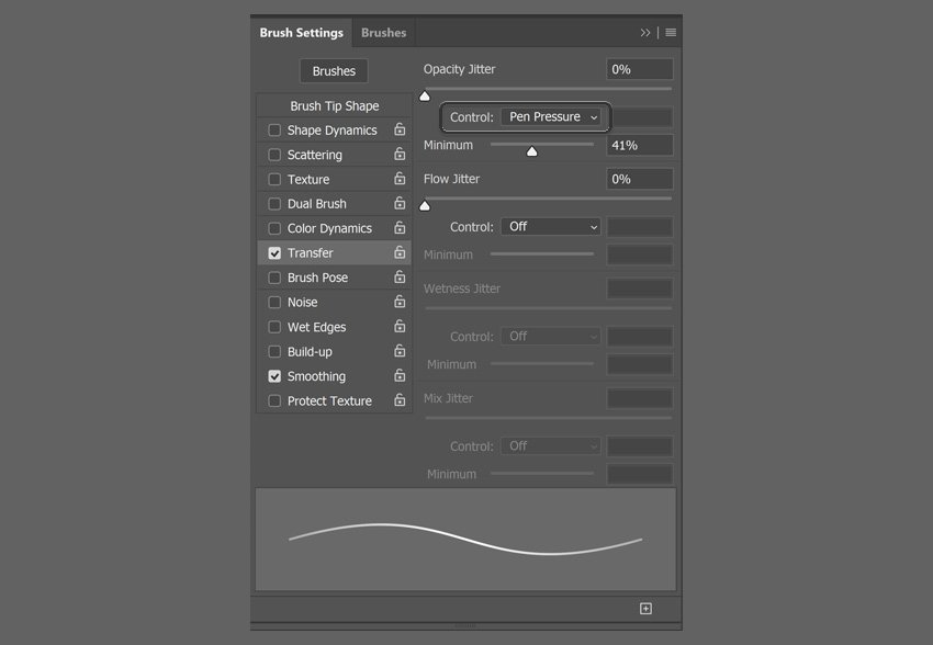 how to link pressure to opacity