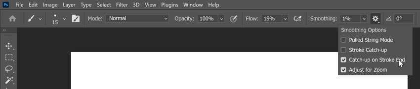 how to make photoshop lines smoother