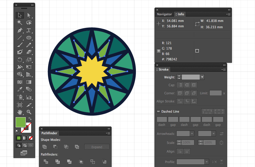 adobe illustrator color group elements tile pattern choice eid greeting pattern background fitr miss chatz