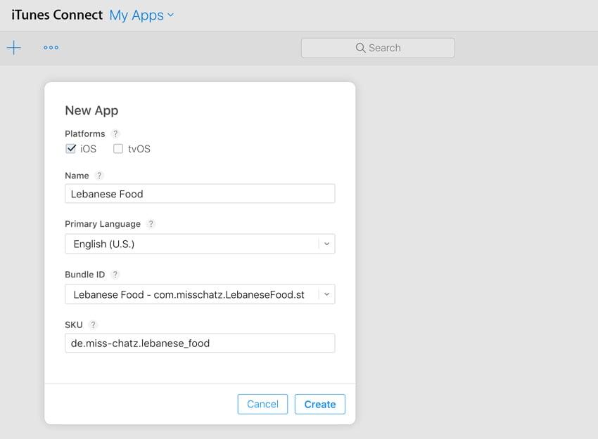 itunes new app
