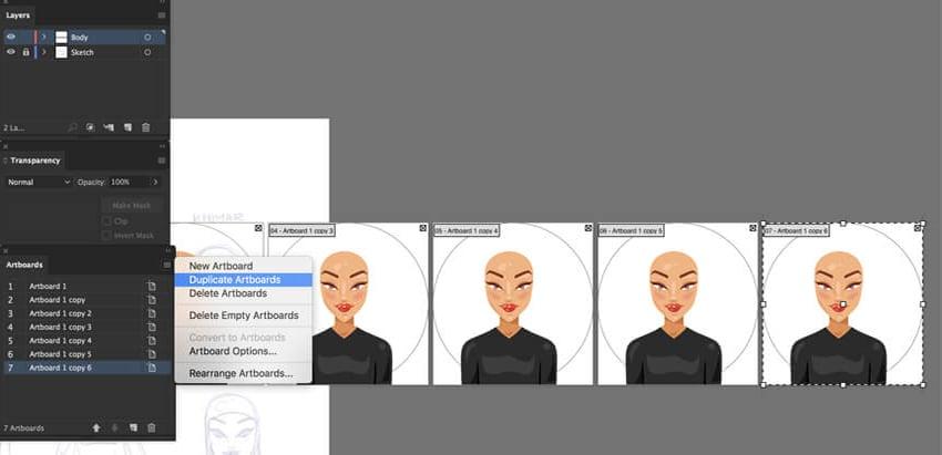 create multiple avatars