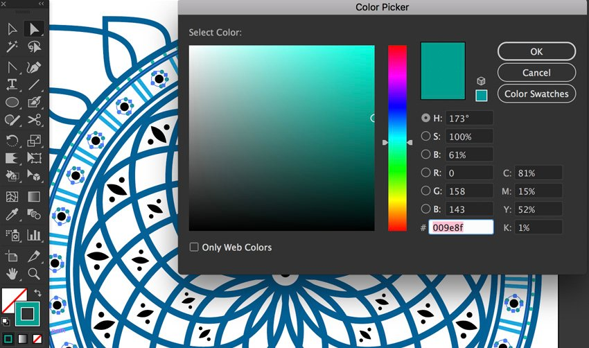 color hex selection same stroke weight