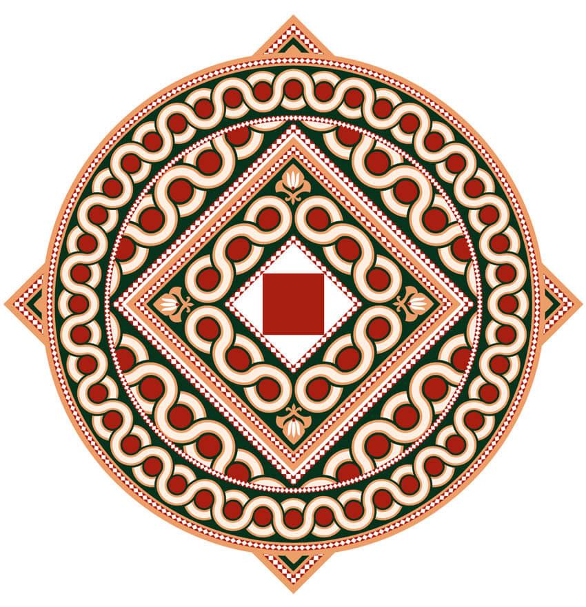 how to create islamic pattern and draw islamic pattern brush illustrator final circular