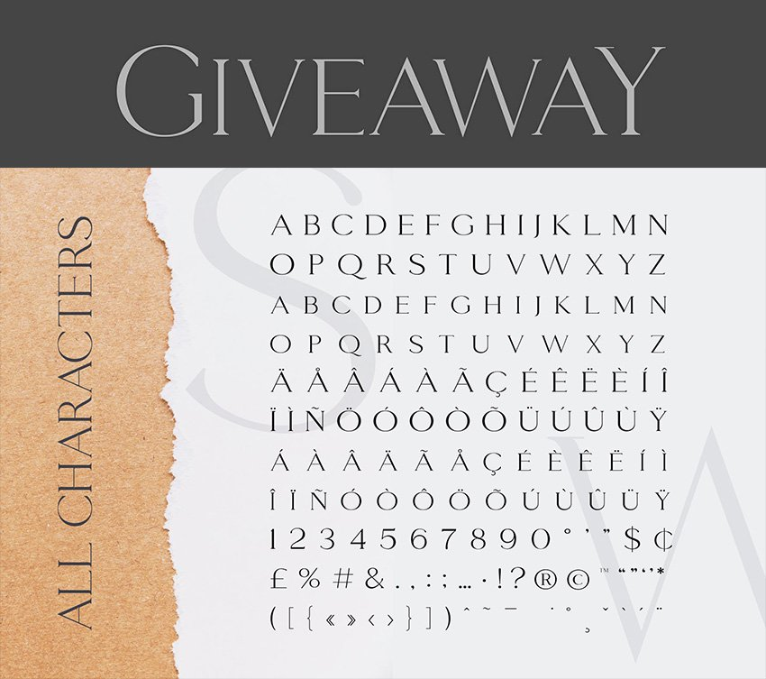 giveaway copperplate gothic light classy font similar to copperplate gothic on envato elements