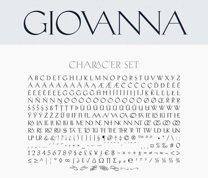 giovanna classic elegant font similar substitute all caps font Copperplate