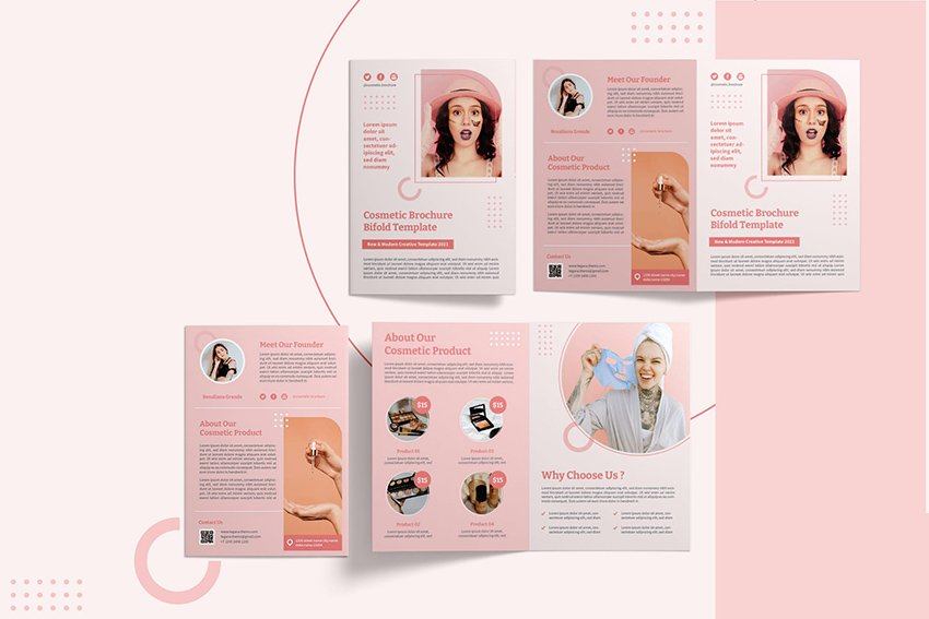 responsive brochure style template sales oriented