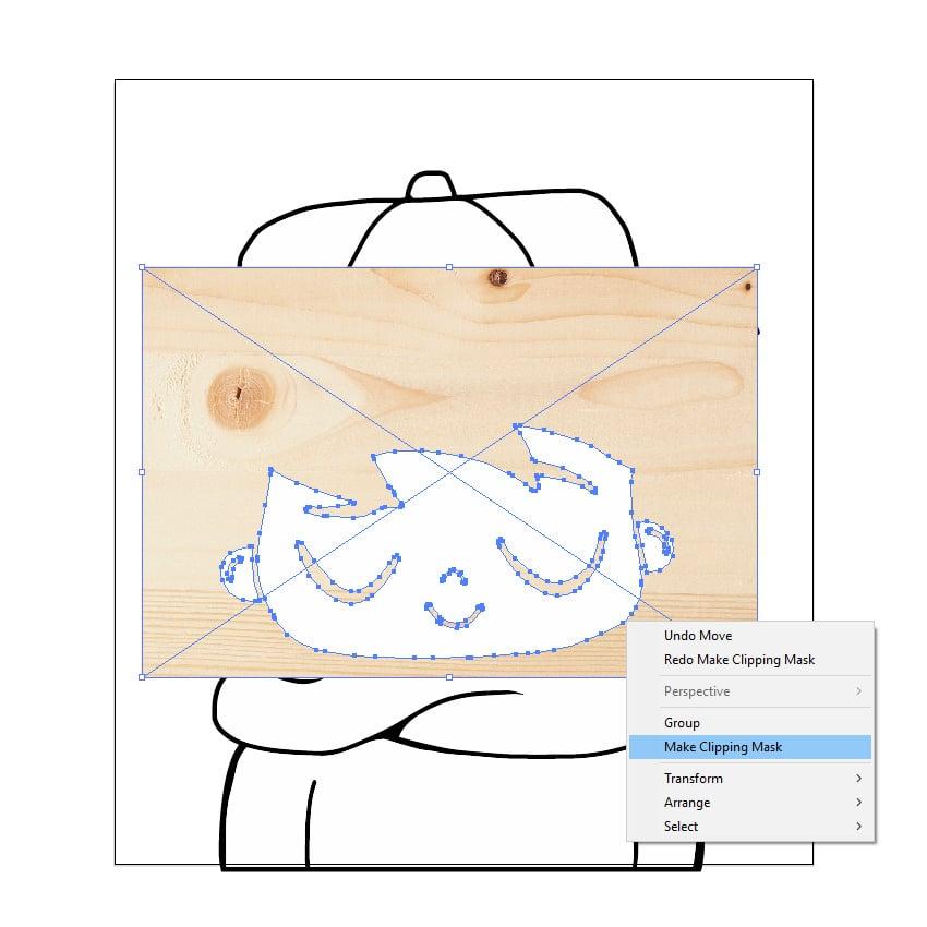 Make clipping mask
