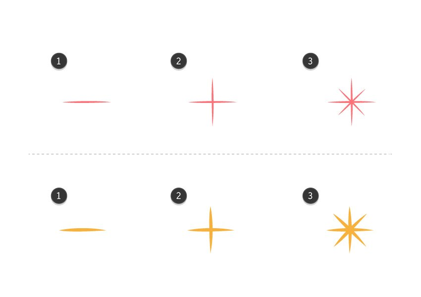 How to create background details - Stars