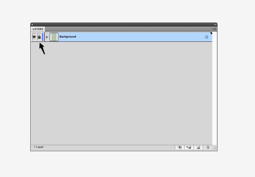 locking background layer