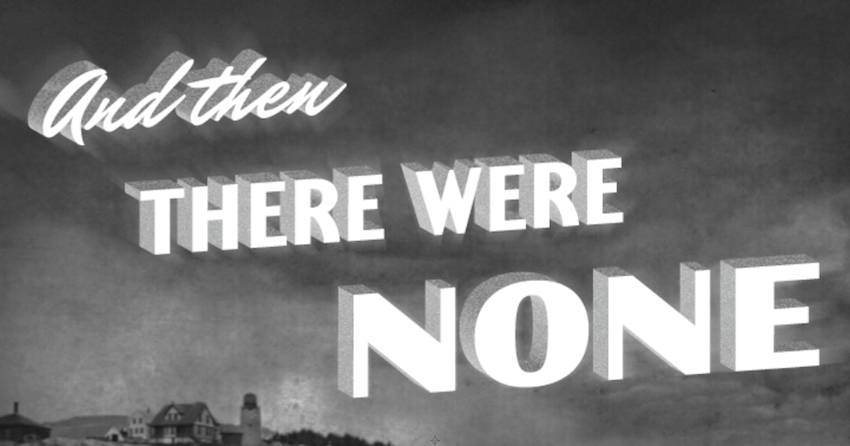 film noir typography final