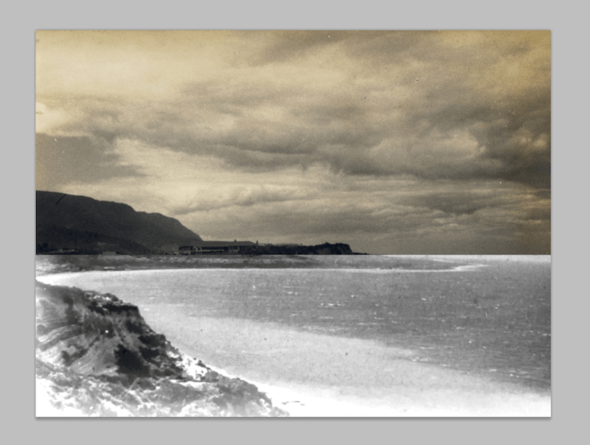 cropping photo with marquee tool