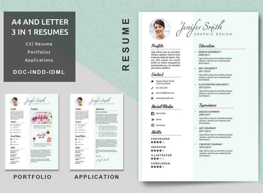creative-resume-template-with-different-resume-font-sizes