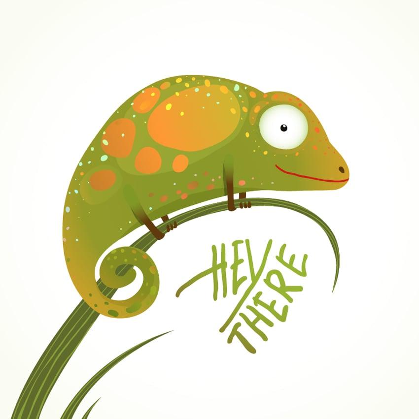 lizard illustration