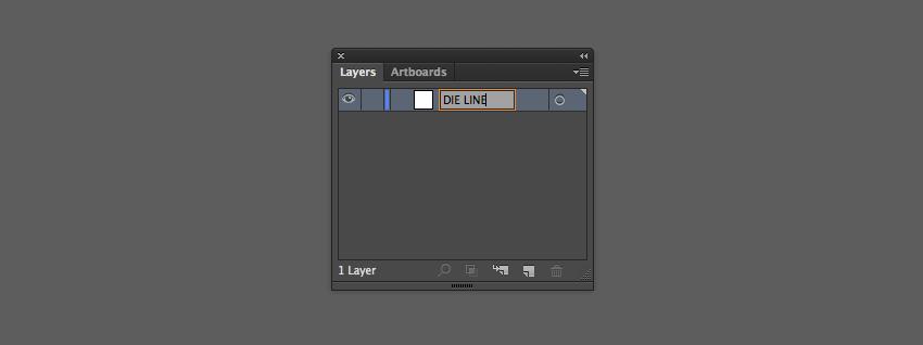 die line layer