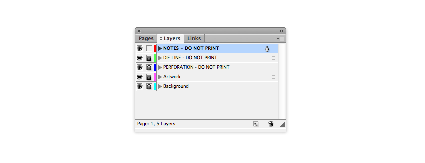 notes layer