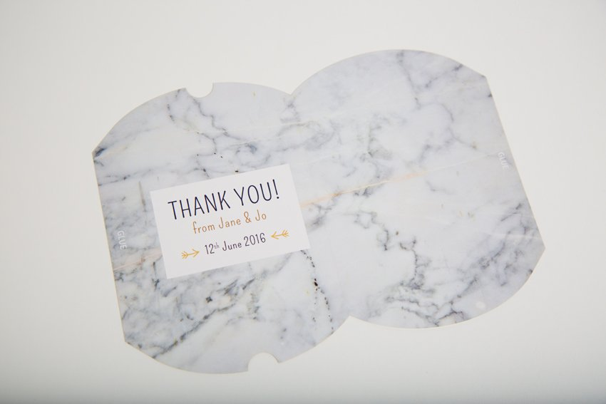 final white marble design
