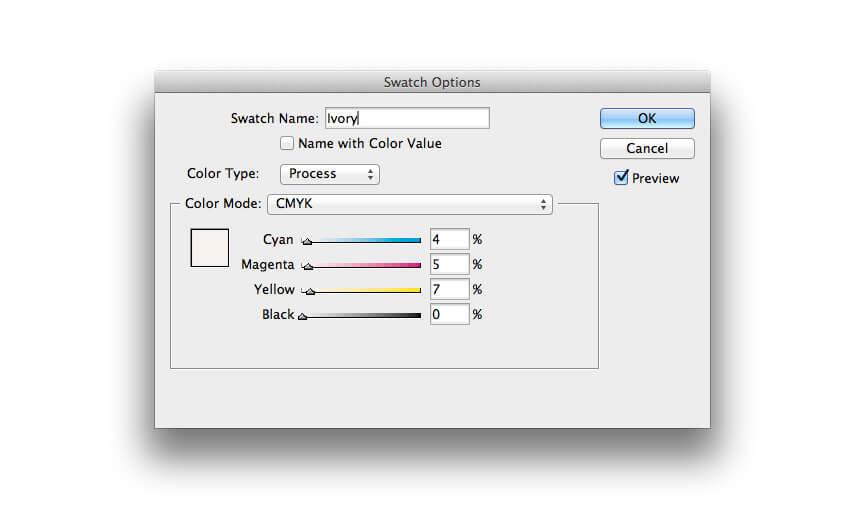 swatch options ivory