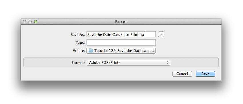 export pdf
