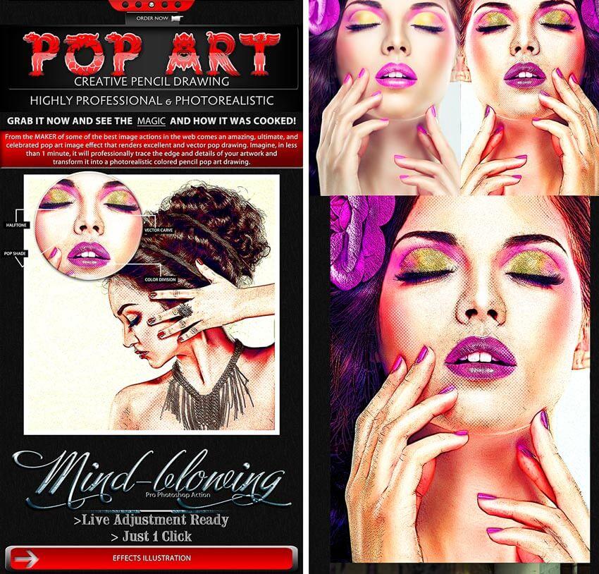 pop art effect