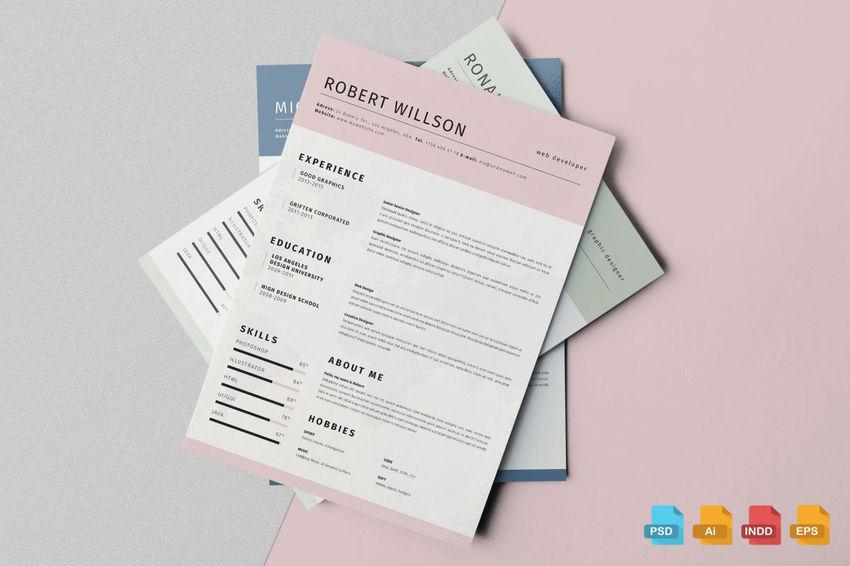 pastel resume
