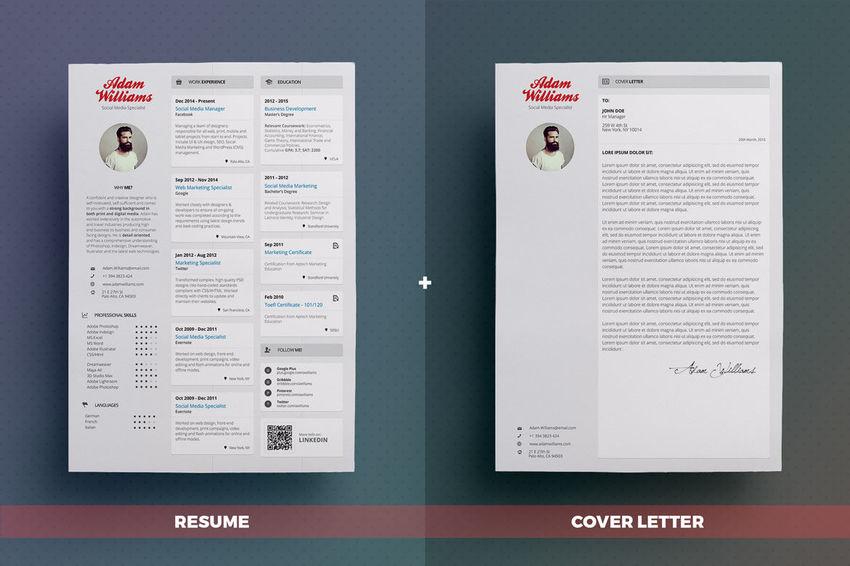 lettering resume
