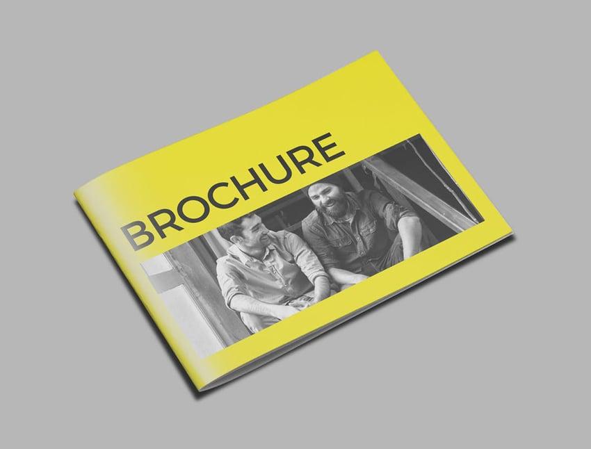 simple brochure