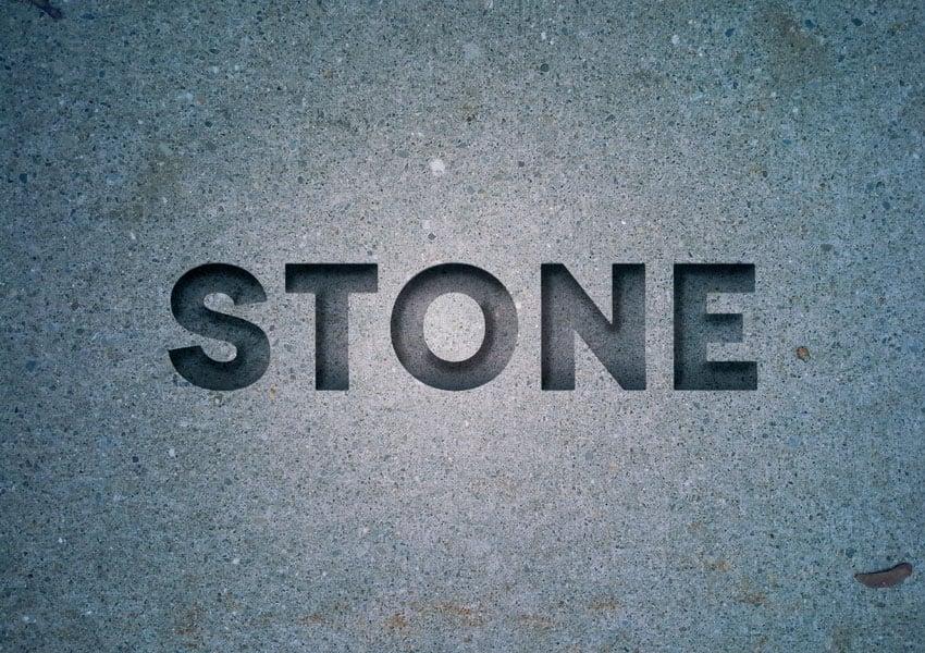 final stone effect