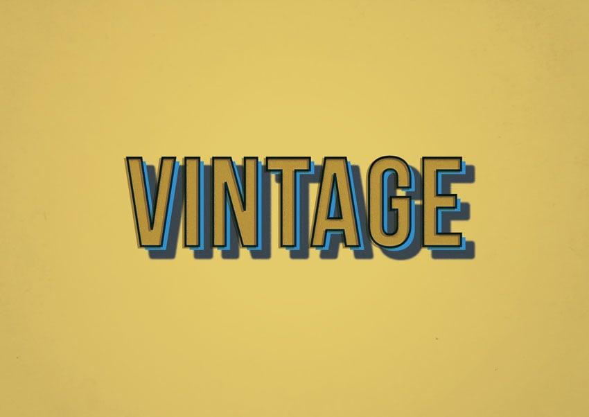 vintage effect final