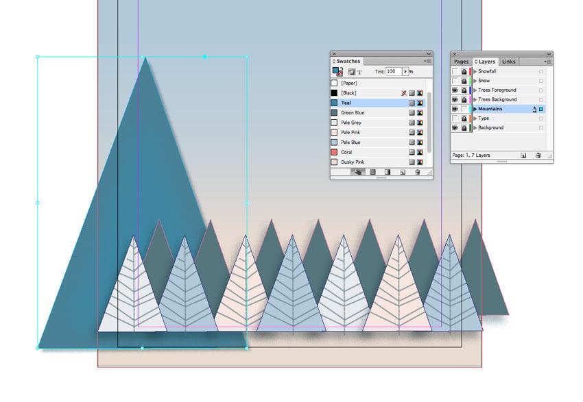 mountain shape