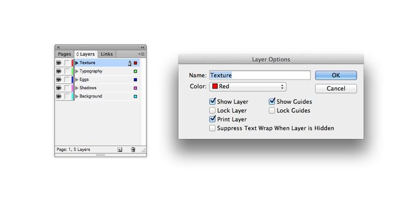 layer options