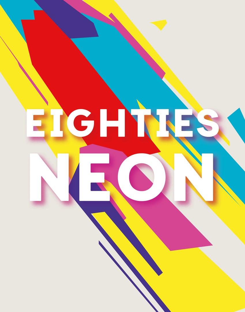 eighties neon