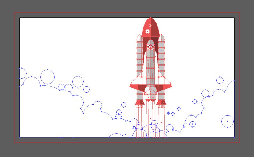 rocket graphic