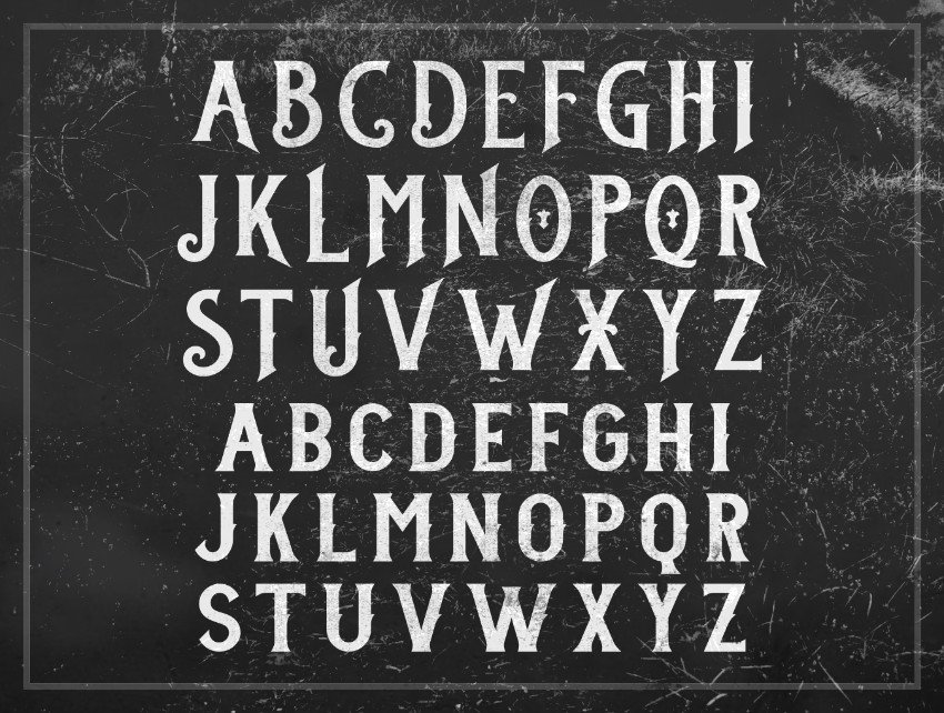 stanley gothic typography