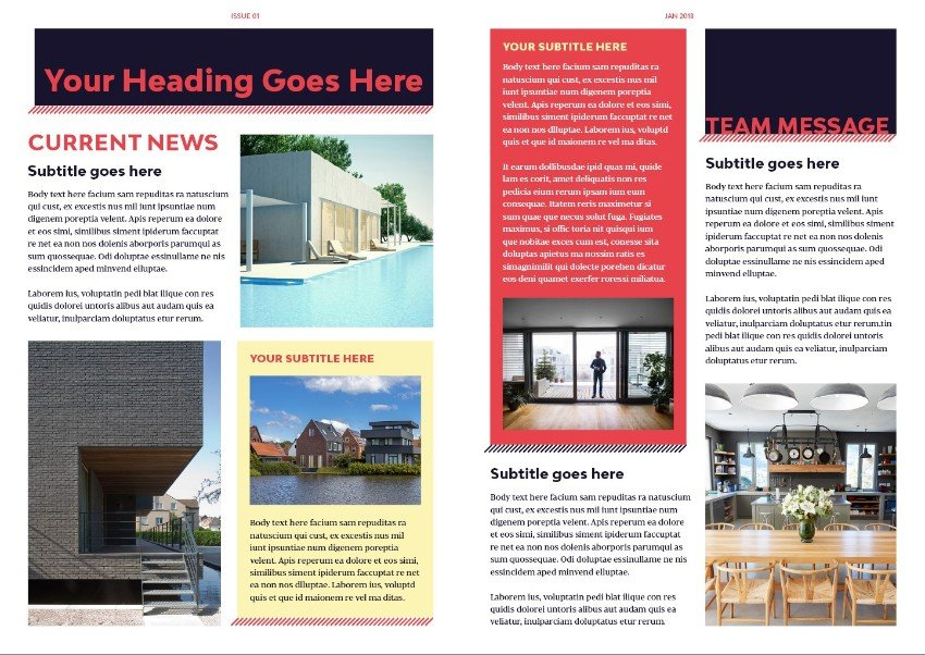 How to Create a Real Estate Newsletter Template in InDesign