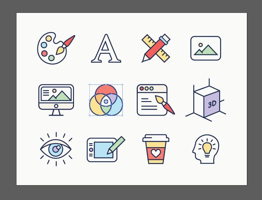 icons illustrator