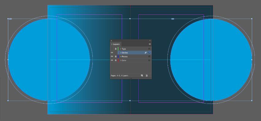 circles layer
