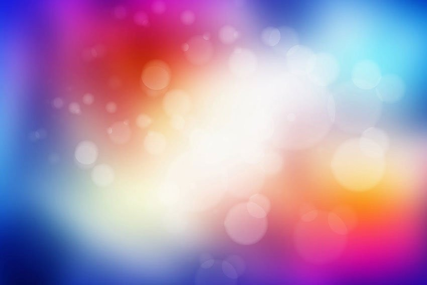Colorful Blurred Bokeh Backgrounds