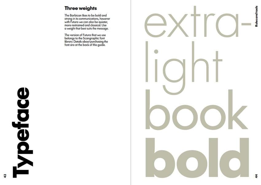 barbican font